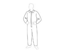 PERMAGUARD COVERALL