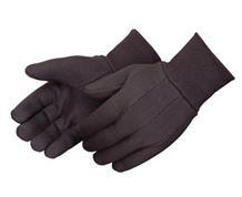 Premium Weight Brown Jersey Glove